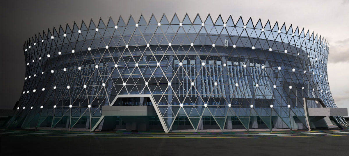 The_Heydar_Aliyev_Sports_and_Exhibition_Complex_is_currently_under_renovation_ina_bid_to_referburish_and_modernise_it_in_time_for_the_inagural_European_Games_in_2015_Baku_2015