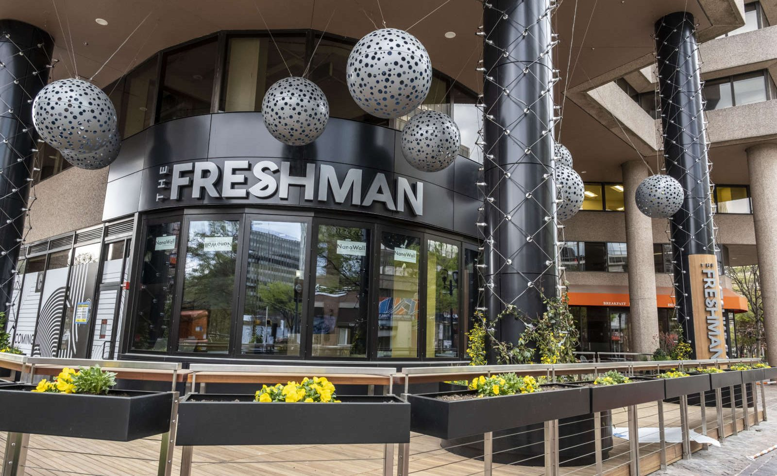 The Freshman is coming to Crystal City (Staff Photo by Jay Westcott)